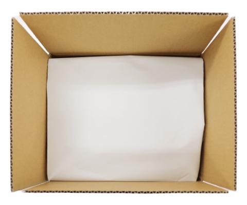 プチプチで包装された小物