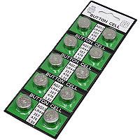 【お買い得】ボタン電池 LR44(10個パック)