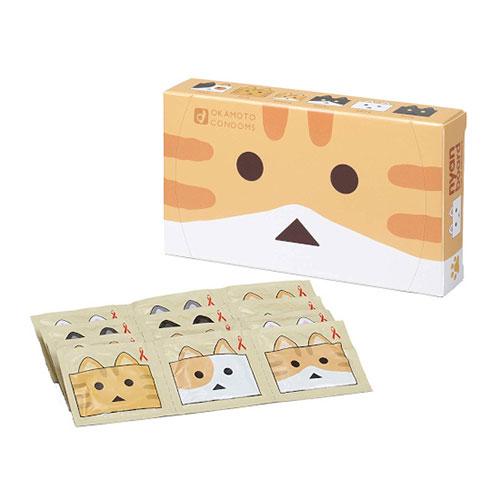 オカモトコンドーム ニャンボーver.(12枚入り)