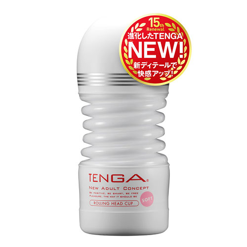 TENGA ROLLING HEAD CUP SOFT [新TENGA]