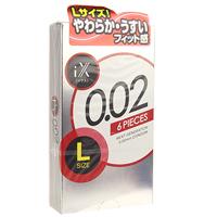 iX(イクス)0.02 LARGE 1000【旧ジェクスコンドーム0.02LARGE 1000】