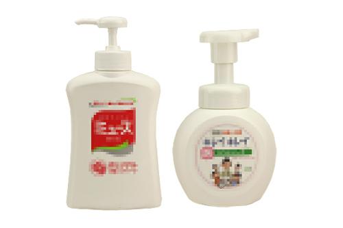 液体石鹸、中性洗剤がおすすめ